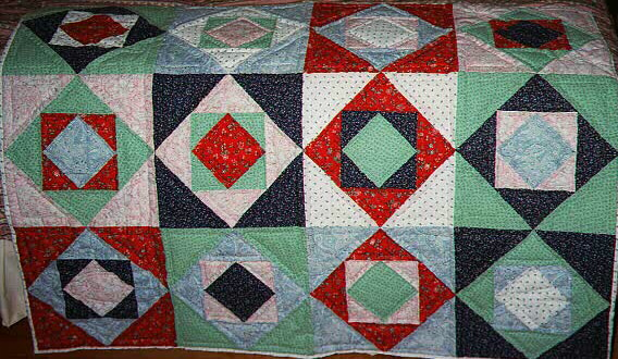 nested boxes quilt